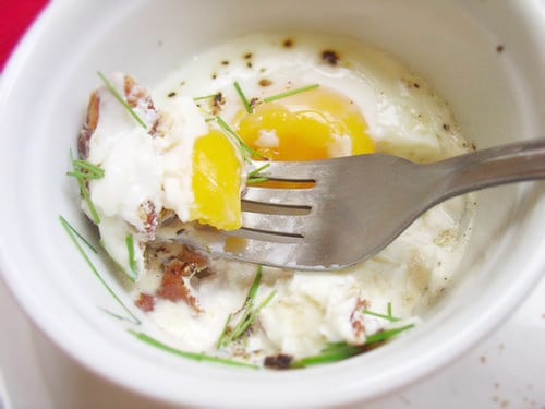 Bacon-Baked Eggs