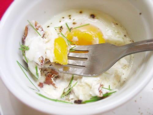 Bacon-Baked Eggs