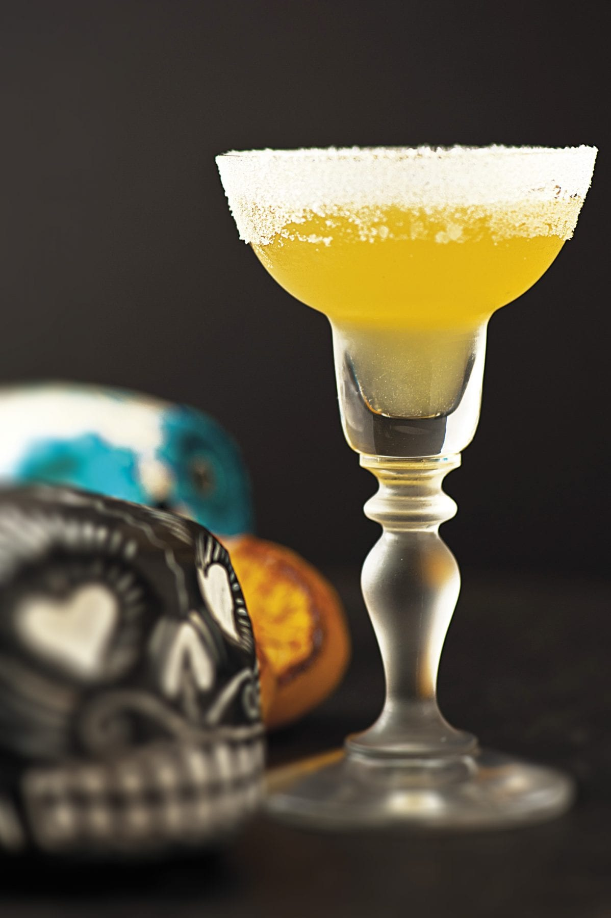 Sweet Broiled Lemon Margarita