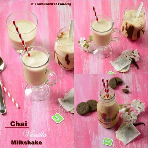 Chai Vanilla Milkshake