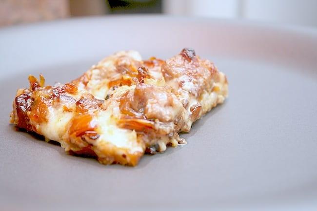 Kielbasa Weissbier Cheese Pizza