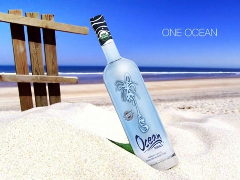 Ocean Vodka  is  purely distilled from deep Big Island sea water and organic sugar cane.