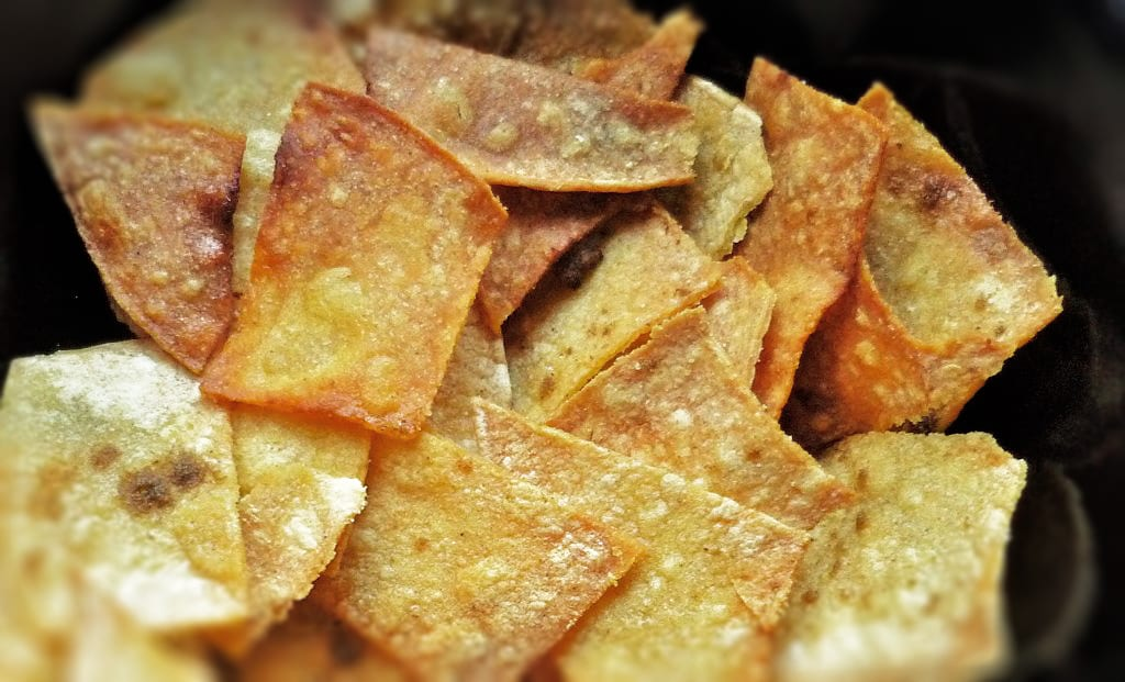 Homemade Tortilla Chips Recipe by Lauren Hardy