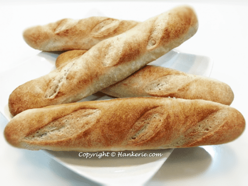 Traditional French Baguette