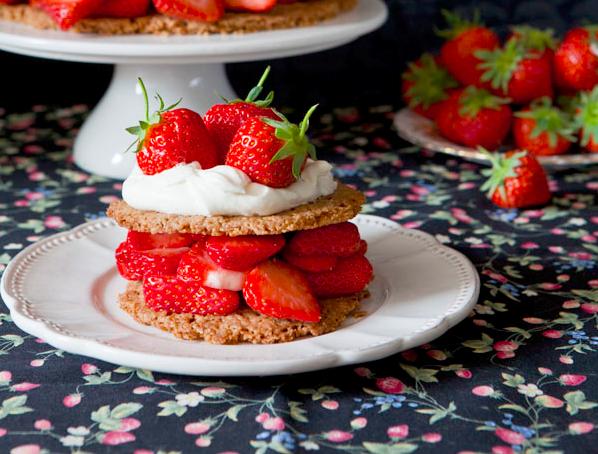 Strawberry Spelt Shortcake