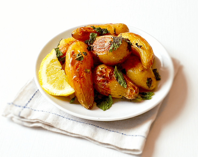 Lemony Roasted Potato