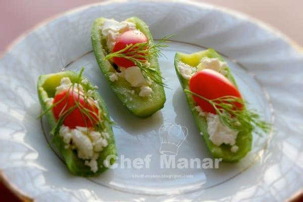 Zucchini Feta Tomatoes Recipe