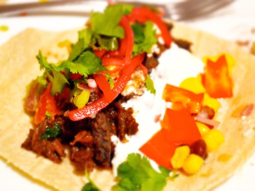 Mexican Braised Beef Tacos