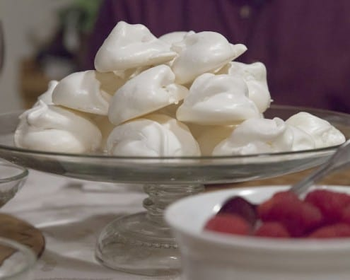 Sweet, Light, and Crunchy Meringues
