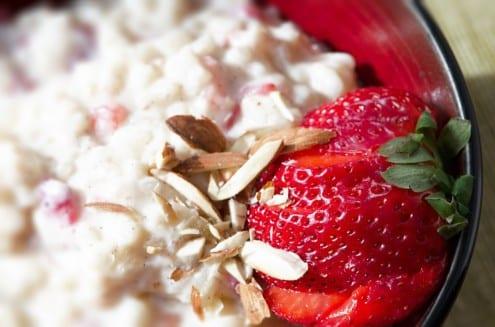 Riso al Latte con Fregole e Mandorle - Easy Rice Pudding