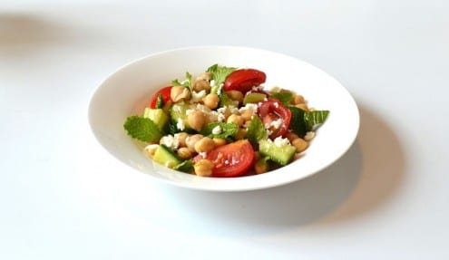 Lemony Chickpea Salad
