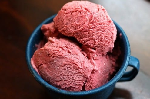 Wild Strawberry Ice Cream
