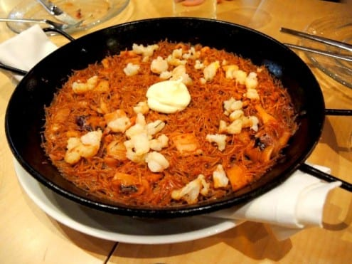 paella at Jaleo