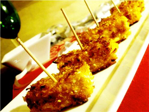 Crispy Sesame Fried Tofu