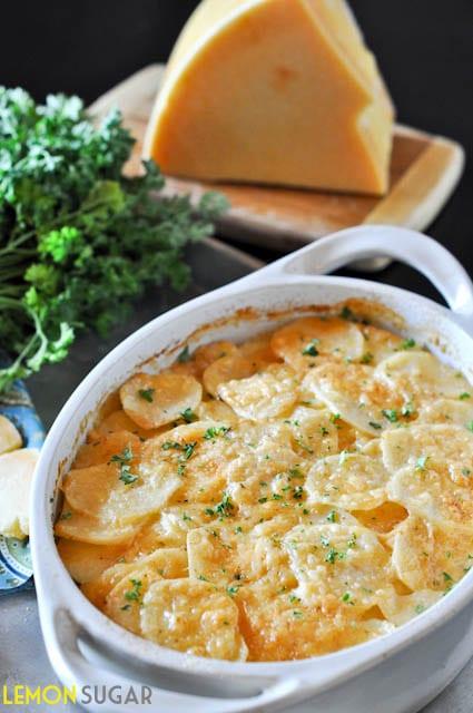 Cheesy Potato Gratin – Honest Cooking