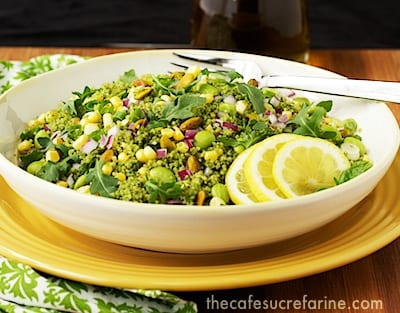 Couscous and Mixed Veggie Salad