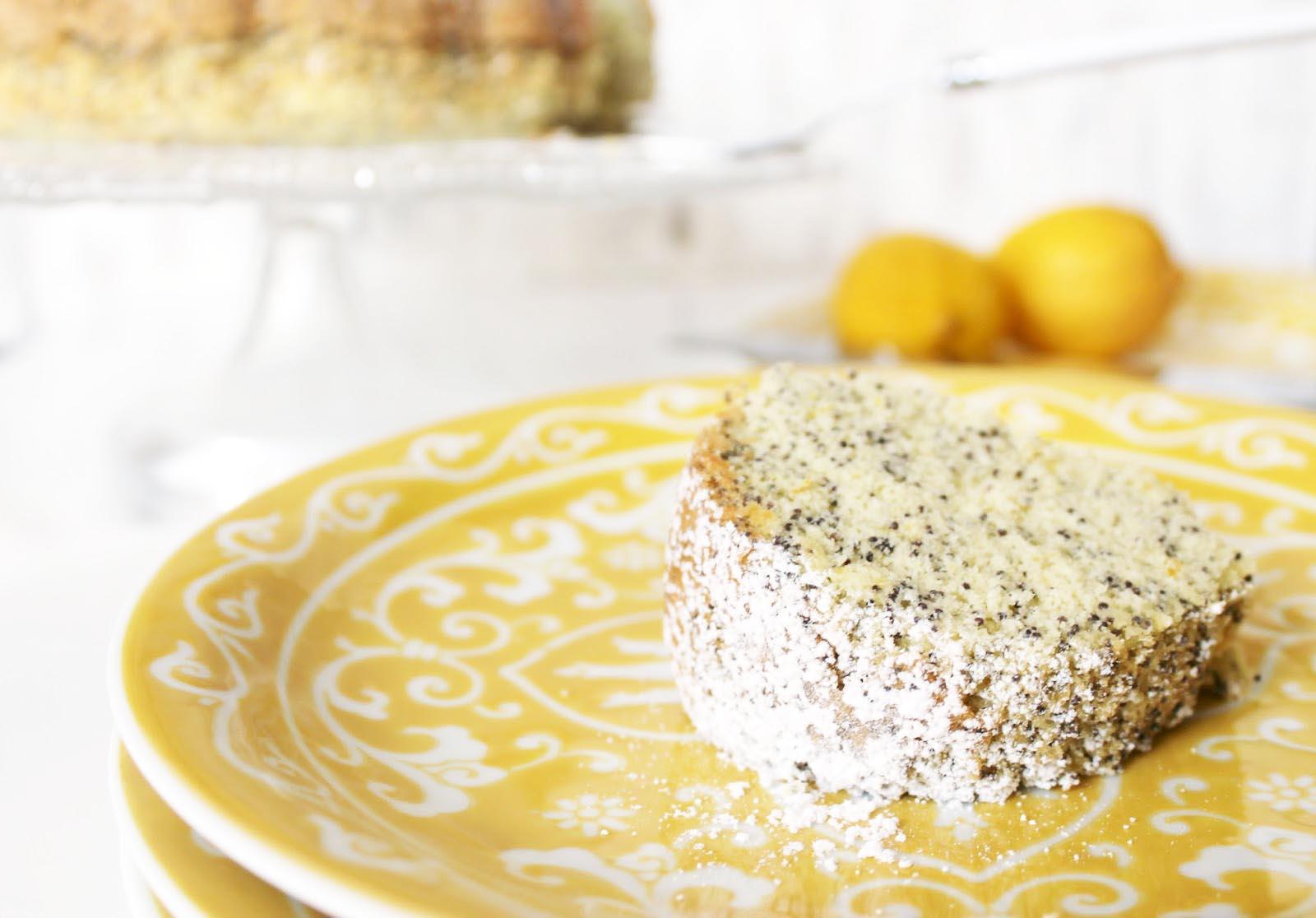 Citrus Poppy Seed Cake