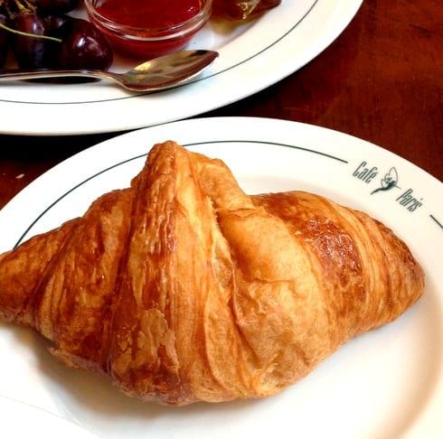 Cafe Paris Hamburg Croissant