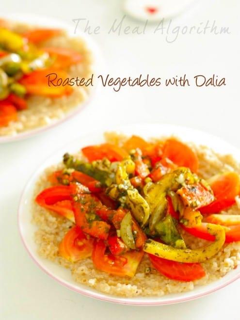 Roasted Vegetables with Dalia