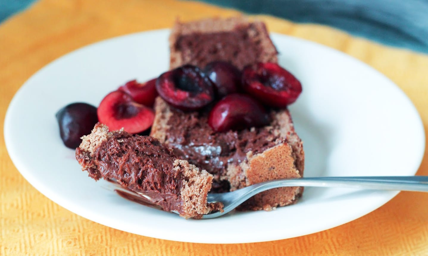Chocolate Marquise Loaf Cake