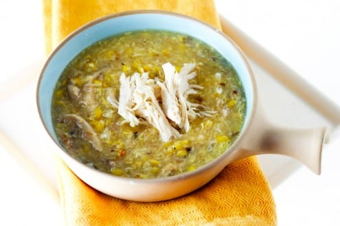 Sweet Corn Chicken Soup