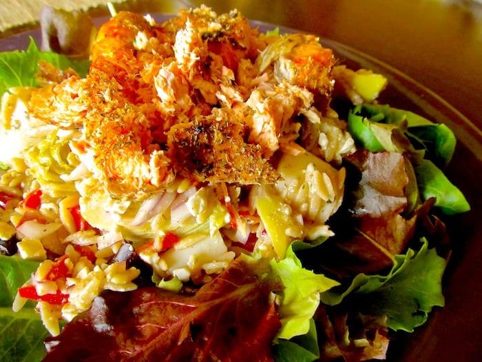 Mediterranean Salmon SaladMediterranean Salmon Salad