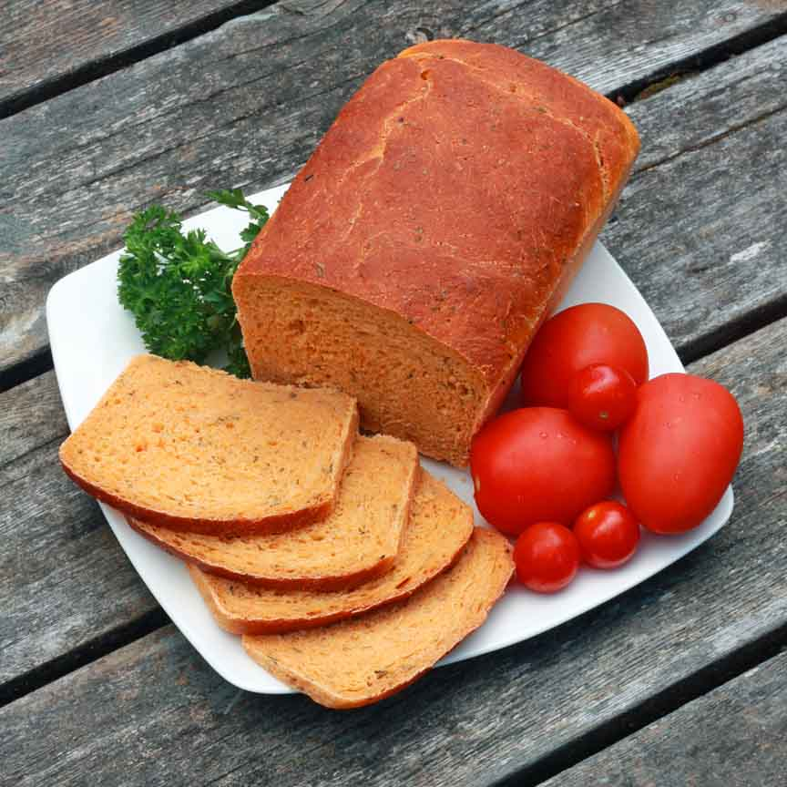 Fresh Tomato and Herb Bread Recipe by Kimberly Killebrew