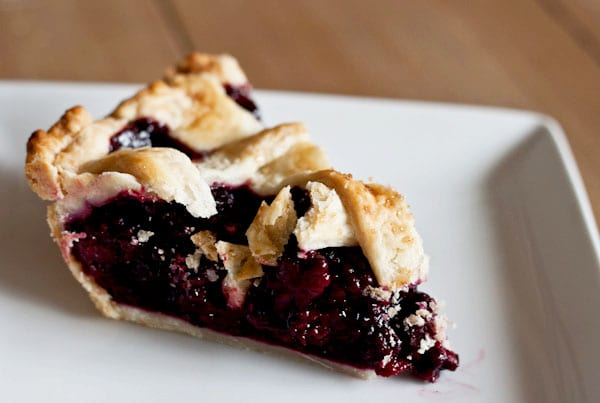Blackberry Ginger Lattice Pie