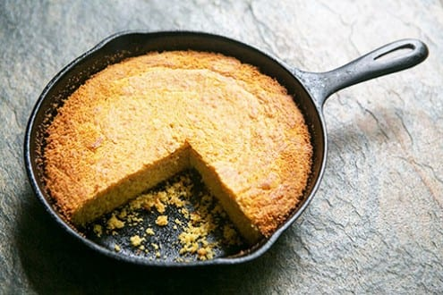 Skillet-Cooked Southern Cornbread