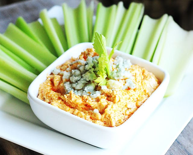 Party Food: Buffalo Chicken Dip