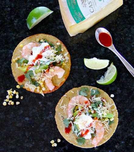 Gulf Coast Shrimp Taco's with Classic Castello and Florida Avocado