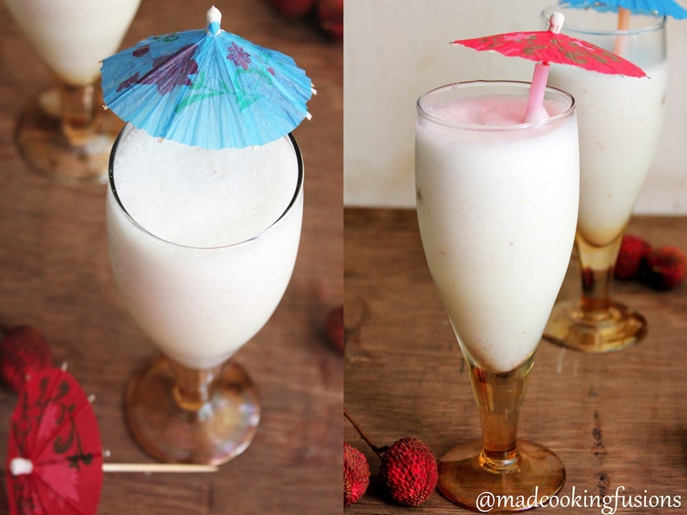 Lychee Milkshake