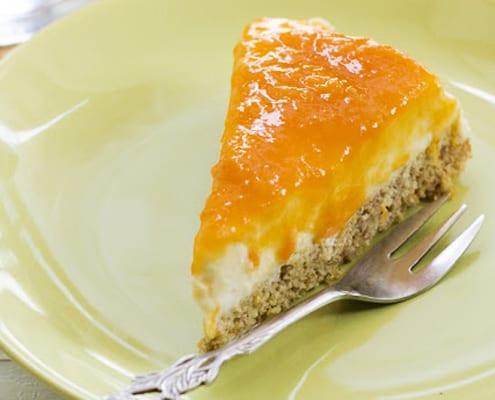 Sugar-Free, Gluten-Free Apricot Cake