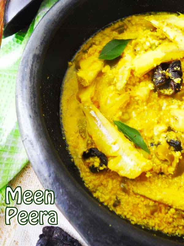 Meen Peera/Kerala Style Fish Curry Recipe