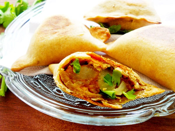 Healthy Vegetable Samosas