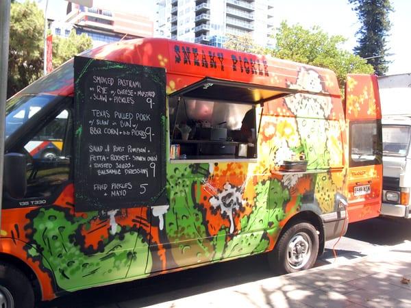 Sneaky Pickle Food Truck
