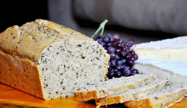 Quick Beer Bread With Caraway Seeds And Sweet Whiskey Butter
