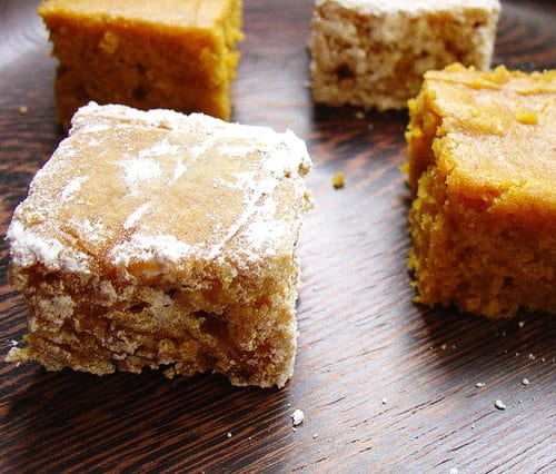Pumpkin Spice Brown Sugar Squares