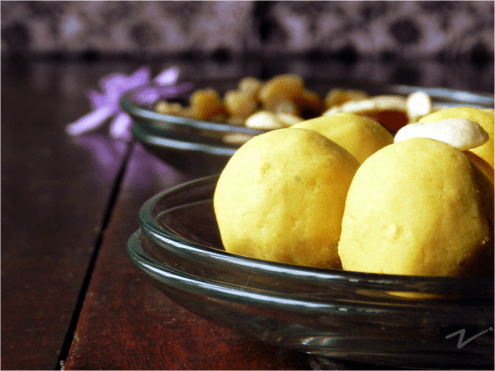 Besan Laddoos, Sweet Dumplings