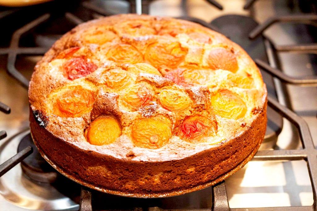 Apricot Ricotta Cake