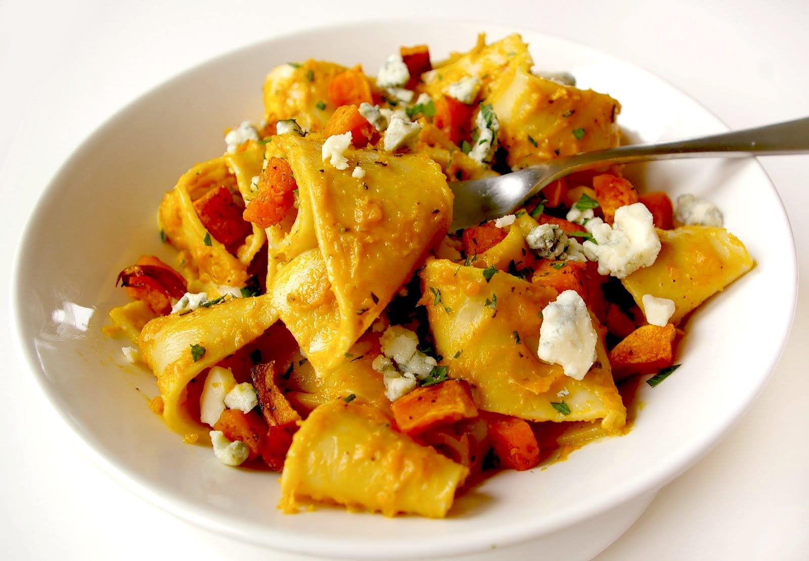 Tagliatelle with Brown Butter and Butternut Squash