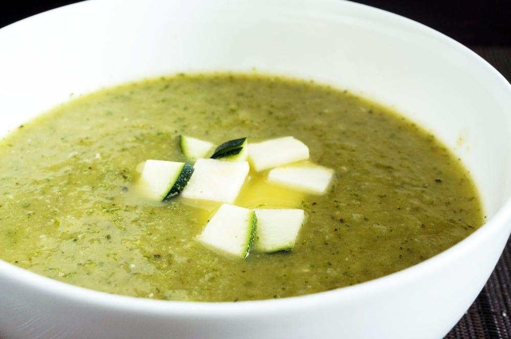 Chilled Zucchini Soup
