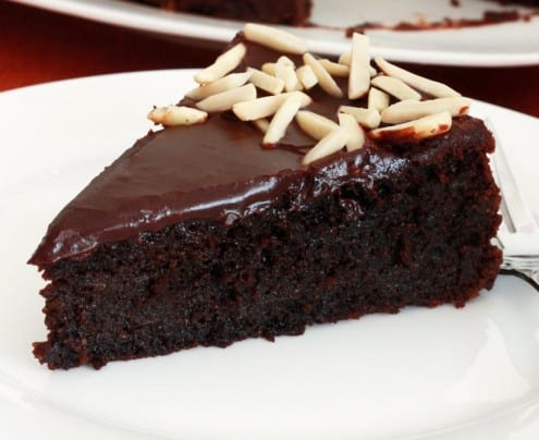 Gluten-Free Chocolate Almond Cake recipe by Kimberly Killbrew