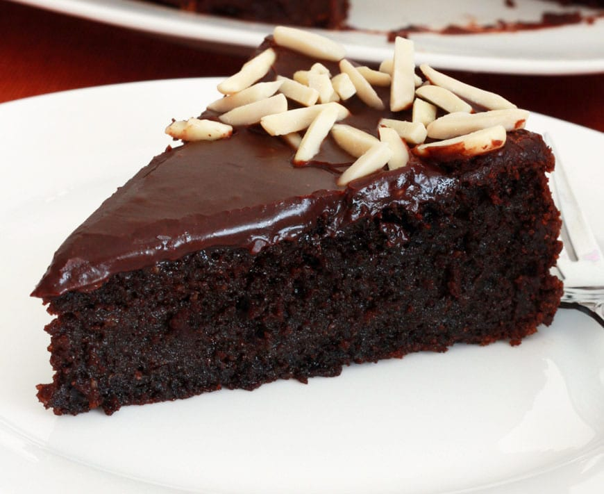 Gluten-Free Chocolate Almond Cake