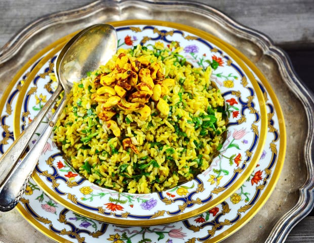 Vegan Spiced Cashew Rice