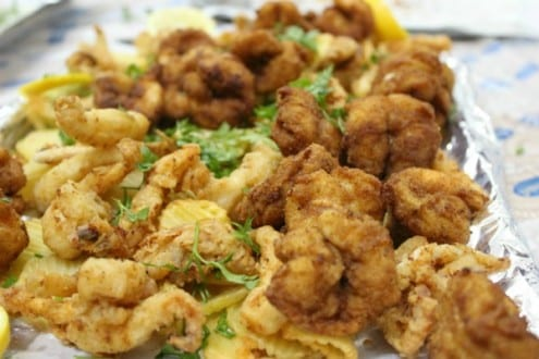 Fried Shrimp and Calamari Recipe