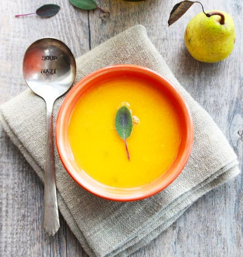 Sweet Potato and Pear Soup