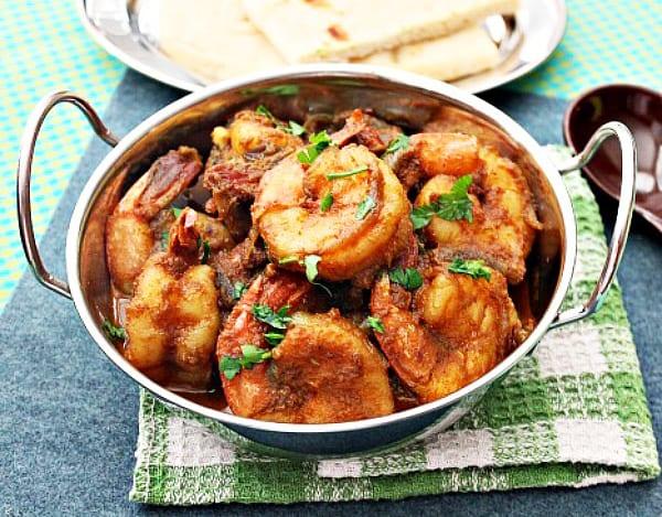 Spicy Masala Shrimp