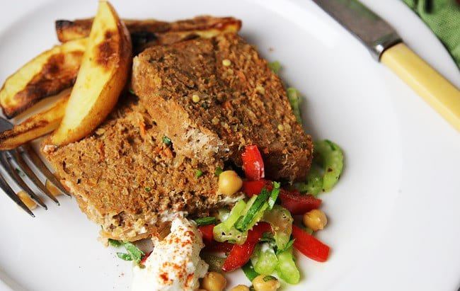 Moroccan Lamb Meatloaf