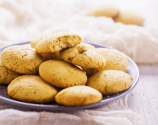 Citrus and Spiced Butter Cookies